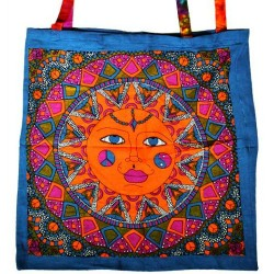 "Sun Tote Bag Multi Color 18"" x 18"""