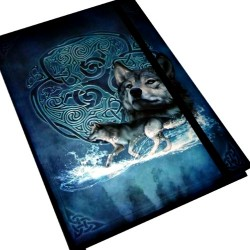 "Celtic Wolf Journal 5 7/8"" x 8 1/4"""