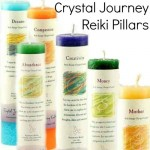 Crystal Journey Reiki Charged Pillar Candles