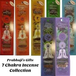 7 Chakra Prabhuji's Gifts Stick Incense Collection