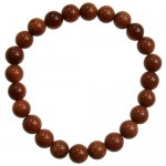 8mm Gold Sandstone bracelet (synthetic)