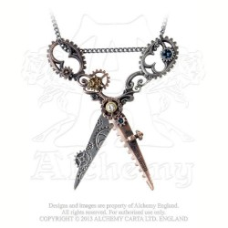 Pinkington's Precision Warp-Dissection Shears Necklace