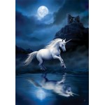 Anne Stokes Mythical Companions - Lunar Unicorn for Making Good Decisions