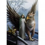 Anne Stokes Mythical Companions - Griffin of Nemesis for Universal Justice