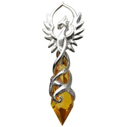 Anne Stokes Crystal Keepers - Phoenix Flame for Renewed Energy and Confidence