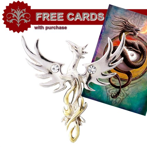 Anne Stokes Mythical Companions - Sun Phoenix for Optimism