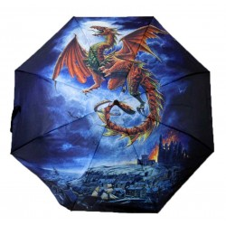 Umbrella - Alchemy Gothic Whiby Warm Dragon