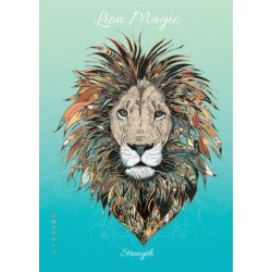 Karin Roberts' Art Card 6 Pack Lion Magic for Strength