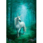 Anne Stokes Enchanted Cameo - Forest Unicorn