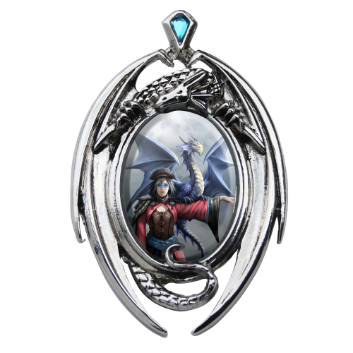 Anne Stokes Enchanted Cameo - Look To The East