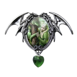 Anne Stokes Enchanted Cameo - Kindred Spirits