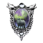 Anne Stokes Enchanted Cameo - Aura Wolf