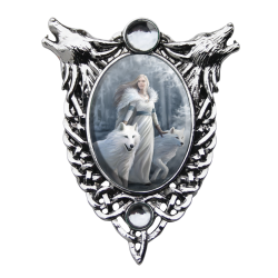 Anne Stokes Enchanted Cameo - Winter Guardians