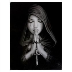 Canvas Art Print - Anne Stokes Gothic Prayer