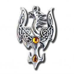 Mythic Celts - Avalon Phoenix Successful Transition Pendant
