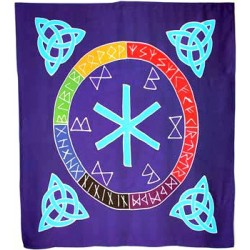 """Rune Mother altar cloth or scarve 36"""" x 36"""""""