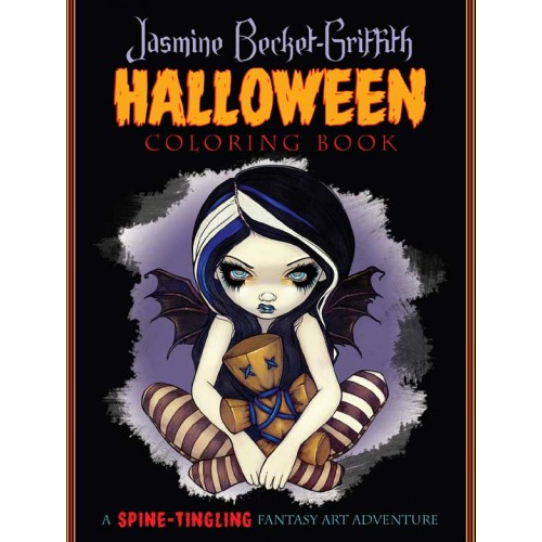 Coloring Book - Halloween by Jasmine Becket-Griffith