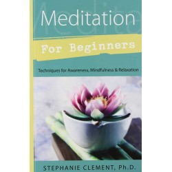 Meditation for Beginners by Stephanie Clement