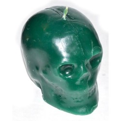 """Skull Candle, Green 3 1/2"""""""
