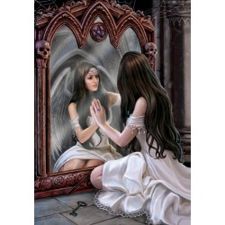 Anne Stokes Angel Card 6 Pack - Magical Mirror