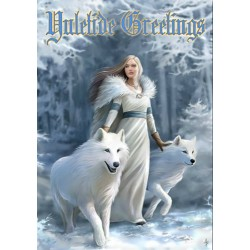Anne Stokes Yule Card 6 Pack - Winter Guardians