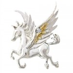 Anne Stokes Mythical Companions - Pegasus of the Stars for Quick Thought & Creativity