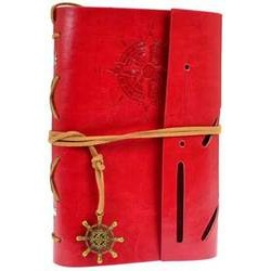 Compass Journal in Red