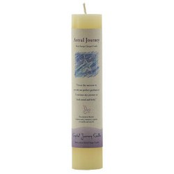 Astral Journey Reiki Charged Pillar Candle