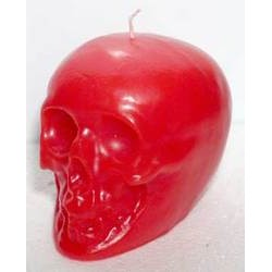 """Skull Candle, Red 3 1/2"""""""