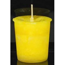 Positive Energy Herbal votive - yellow