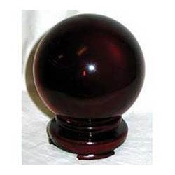 80mm Red Crystal Ball