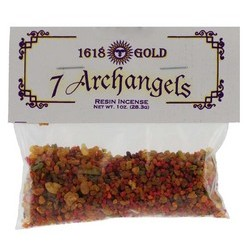 7 Archangels Resin Incense 1oz