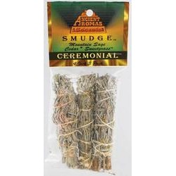 Ceremonial Smudge Stick 3-Pack 4""